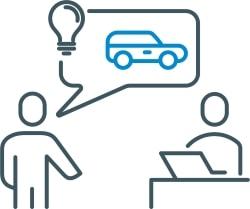 Dienstleistung 3D-Druck Beratung, Projektbesprechung kreative Ideen und Prototypenentwicklung