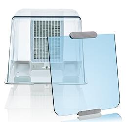 Ultimaker 2+ Connect Air Manager und Frontabdeckung