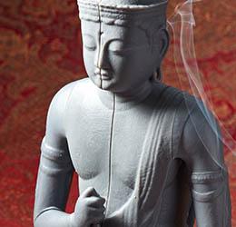 Formlabs Grey Resin Druckbeispiel Buddha